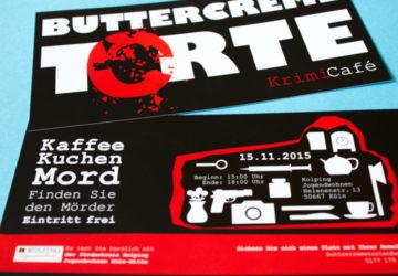 Buttercreme Torte Krimi Café